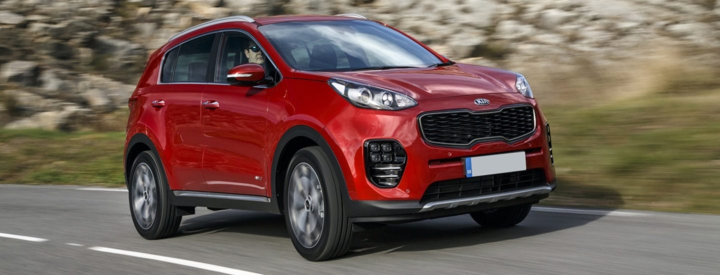 Kia Sportage 1.6 GDi 130 2 5dr Manual SUV lease